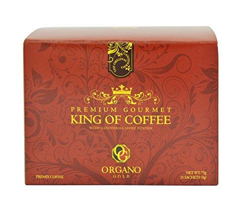 1 Box Organo Gold King Of Coffee 100% certified Organic Gourmet Coffee