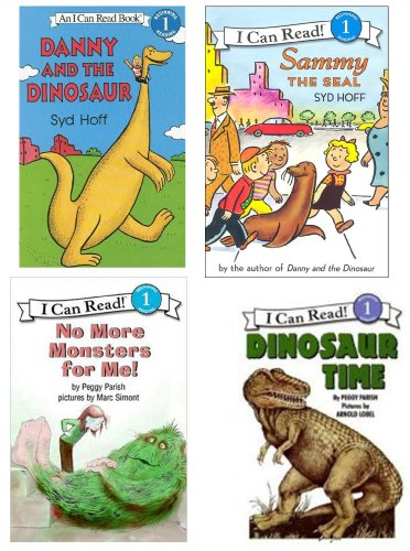 I Can Read Books Set: No More Monsters For me! Sammy the Seal - Dinosaur Time - Danny & the Dinosaur (I Can Read Level 1 Books for Children) (Sammy Seal)