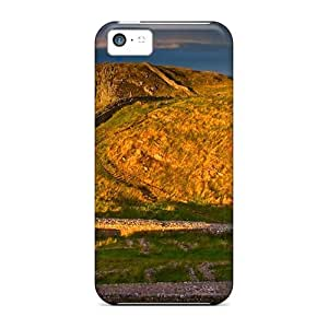 DaMMeke Slim Fit Tpu Protector LpIgFDH4136tyERu Shock Absorbent Bumper Case For Iphone 5c
