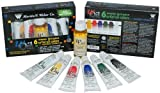 wOil Six 37ml Water Mixable Oil Colors and Medium, Water Mixable Oil Set