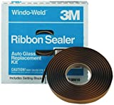 3M 08612 Window-Weld 3/8'' x 15' Round Ribbon Sealer Kit