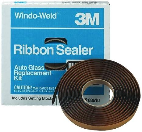 3M 08611 Window-Weld 5/16' x 15' Round Ribbon Sealer Kit
