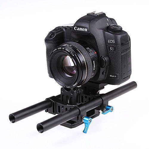 FOTGA DP500 II DSLR rail 15mm rod support system for follow focus and 5DII III D7000 D5100 D3000 dslr dv