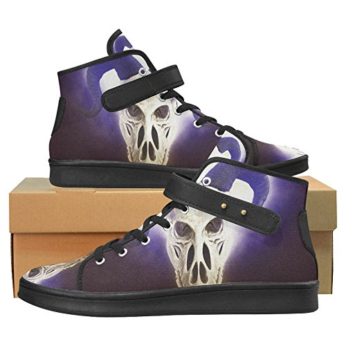 Interestprint Skull Cloth Shoes Fashion Schoenen Voor Women Skull 1