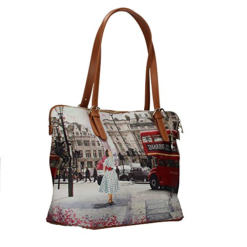YNOT? j-377 Shopping Bag Donna Multicolore