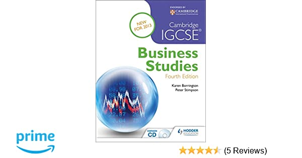 Cambridge igcse business studies 4th edition karen borrington cambridge igcse business studies 4th edition karen borrington peter stimpson 9781444176582 amazon books fandeluxe Choice Image