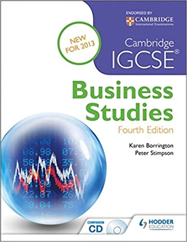 buy cambridge igcse business studies 4th edition book online at low