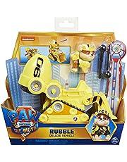 PAW Patrol De Film - Rubble - Speelgoedvoertuig met actiefiguur