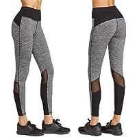 Mujer Leggings, gillberry Mujeres Deportes Pantalones Athletic Gimnasio Fitness Yoga Leggings pantalones