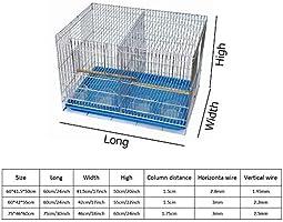 Meetshine Parrot Birdhouse Jaulas para Pájaros Gran Escala ...