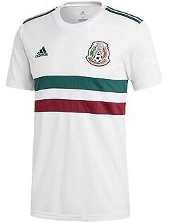 07bc2315767 Amazon.com  adidas Mens 2018 Mexico Home Replica Jersey  Sports ...
