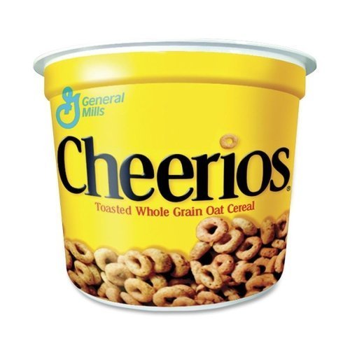 Cereal Advantus Cheerios (Cheerios Cereal-in-a-Cup - 6 individual cups by Advantus Corp.)