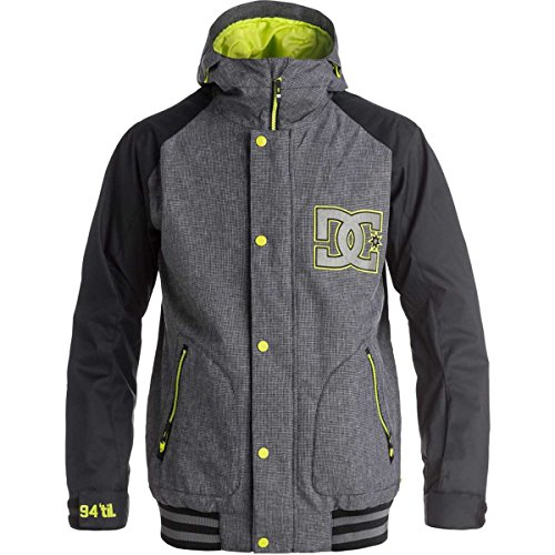 DC Men's Dcla 17 Jacket, Black, Large