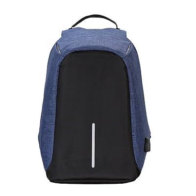 ZYXCC hommes et les femmes voyagent sac à dos printemps et été multifonctionnel USB de charge sac à dos d'affaires sac à dos d'ordinateur portable (noir gris violet bleu et vert)