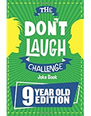 The Don't Laugh Challenge - 9 Year Old Edition: The LOL Interactive Joke Book Contest Game for Boys and Girls Age 9