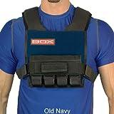 20 Lb. BOX Super Short -Weight Vest (Navy)