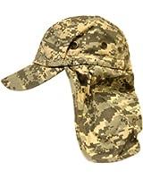 Digital Camo Fisherman's Flap Cap