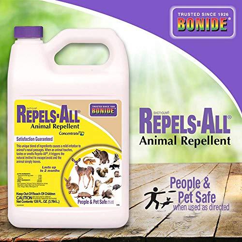 Bonide (BND2405) - Repels-All Animal Repellent Concentrate (1 gal.) (New York Botanical Garden Best Time To Visit)