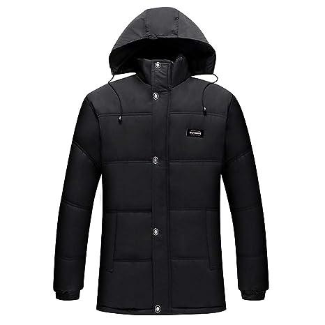 Amazon.com: Jiayit - Abrigos de invierno con capucha para ...