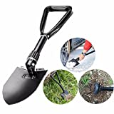 Cisixin Multi-Functional Mini Military Folding Shovel Spade Camping Tool