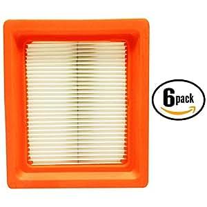 6-Pack Replacement Kohler 14 083 15-S Air Filter - Compatible Kohler 1408315-S Filter