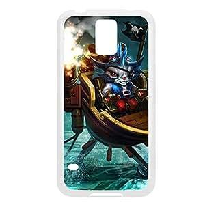Ryze-004 League of Legends LoL case cover Samsung Galaxy Note2 N7100/N7102 - Plastic White WANGJING JINDA