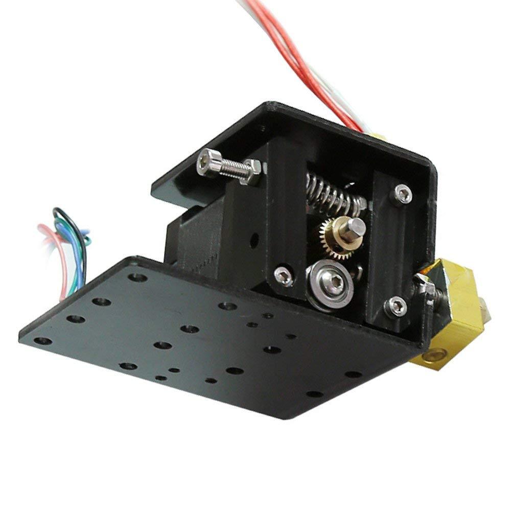 Upgrade Long Distance Remote Metall Extruder Kopf Motor 17 Schrittmotor Kit Zubehör Set für Creality 3D Drucker - Schwarz