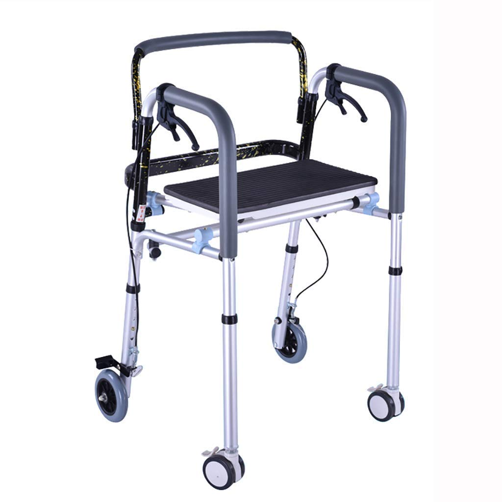 Days-Pro Mobiclinic Andador para Ancianos de 4 Ruedas | Aluminio ...
