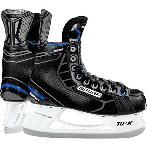 Bauer Nexus N 6000 Skate - Yth Bth16 Black, R 08.0 - Bauer Skates