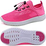 MEISUS Mens Womens Quick Drying Barefoot for Water Aqua Sports Shoes,USMSX02,Rose-37
