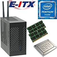 Asrock DeskMini 110 Intel Pentium G4600 (Kaby Lake) Mini-STX System , 8GB Dual Channel DDR4, 960GB SSD, WiFi, Bluetooth, Pre-Assembled and Tested by E-ITX