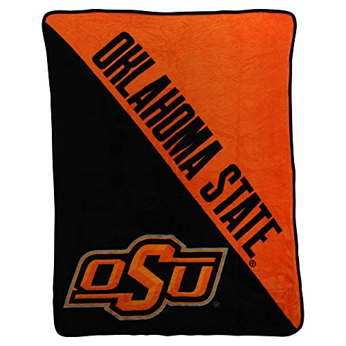 Oklahoma State Fleece Throw - NCAA Collegiate