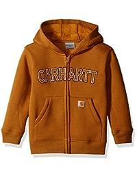 Carhartt Boys' Logo Fleece Zip Sweatshirt