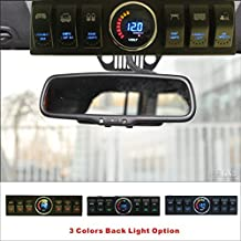 Apollointech Jeep Wrangler JK & JKU 2007-2008 Overhead 6-Switch Pod / Panel with Control and Source System Blue Back Light( Comes with 10 Laser Switch Covers )