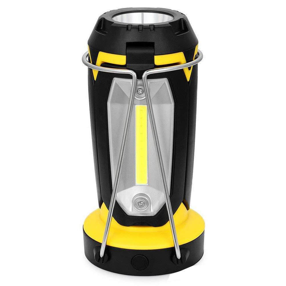 LAIABOR Camping Laterne LED Licht Campinglicht, das tragbares Arbeitslichtnotlicht lädt, das Taschenlampe wandert