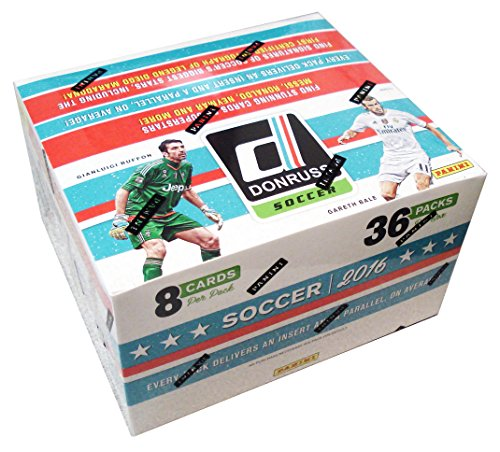 2016 Donruss Soccer Retail Box (36 Count) by Panini
