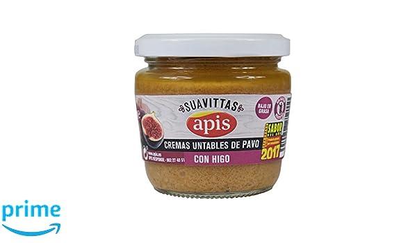 Apis Crema de Pavo con Higo - Paquete de 8 x 160 gr - Total: 1280 gr: Amazon.es: Alimentación y bebidas