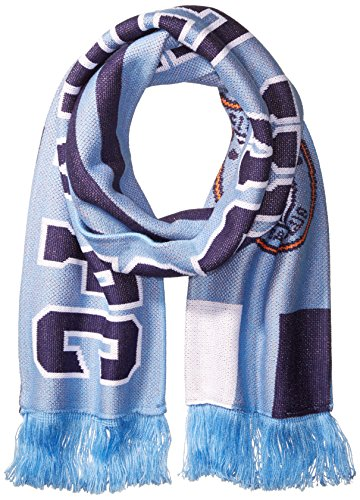 MLS New York City FC Adult MLS SP17 3 Stripes Jacquard Scarf,OSFA,Blue