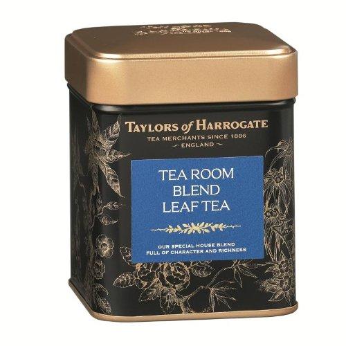 Taylors of Harrogate Tea Room Blend Loose Leaf, 4.41 Ounce Tin