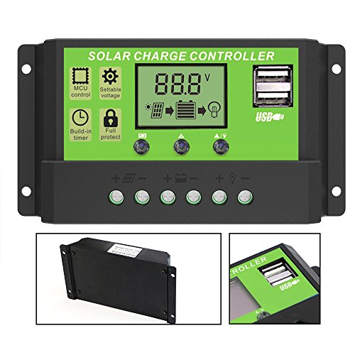 Solar Charge Controller (20A) - 7