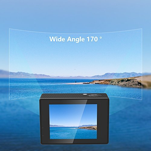 Action Camera SJCAM SJ4000 WIFI FHD1080P waterproof Underwater Camera 12MP Sports Camcorder 2.0 LCD Screen Display -Black by SJCAM (Image #4)