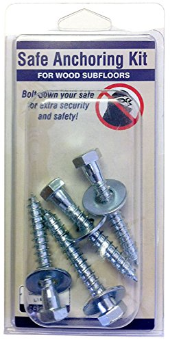Liberty Safe & Security Prod. 10915 Heavy Duty, Wood, Gun Safe Anchoring Kit