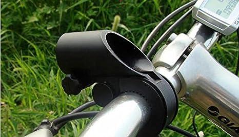 Soporte de linterna para bicicleta rotaci/ón de 360/º Weeton