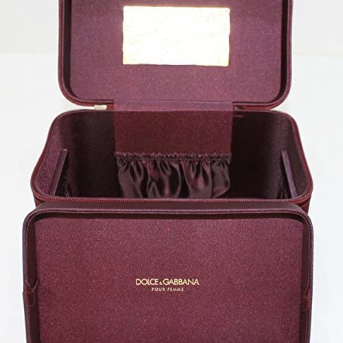 Dolce & Gabbana D&G Estuche de terciopelo para cosméticos y joyas: Amazon.es: Equipaje