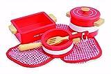 roasting red pot - Indigo Jamm KIJ10059 Pots 'n' Pans Red Playset