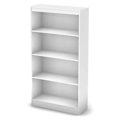 Amazon com: White Book Organizer Closet Storage Unit with