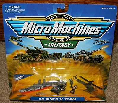 Combat Force Micro Helicopter - MASH #4 Military Micro Machines Collection