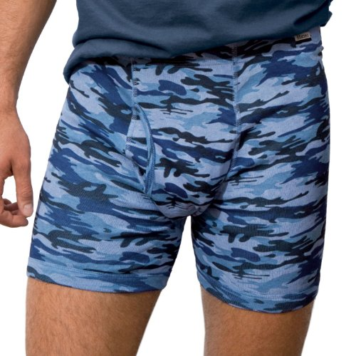 Hanes Comfort Soft Boxer Brief Camo Collection (Pack of 5) Size: Medium , Color: Camo Prints/Solids