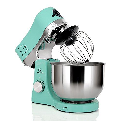 MURENKING Stand Mixer MK50G 650W 5-Qt 8-Speed Tilt-Head Kitchen Electric Food Mixer (Green)