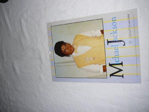 Michael Jackson Official Calendar 1984 (12 Month calendar with great photos) (Michael Jackson Official Calendar)